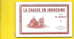 """Carnet 10 Cartes """"LA CHASSE En INDOCHINE"""" Nadal Viet Nam - Viêt-Nam"""