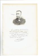 CHARLES ABADIE 1842 SAINT GAUDENS 1932 CAHUZAC SUR VERE OPHTALMOLOGIE PORTRAIT GRAVE AUTOGRAPHE BIOGRAPHIE ALBUM MARIANI - Historical Documents