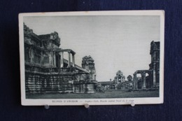 G-252 / Asie  Cambodge - Ruines D'Angkor - Angkor-Vath, Porche Central Des Galeries Ouest Du 2e étage / Circulé - Cambodge