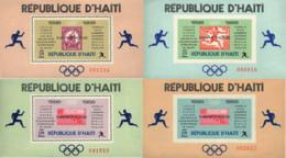 Ref. 39748 * NEW *  - HAITI . 1969. OLYMPIC MARATHON WINNERS. VENCEDORES DE MARATONES OLIMPICAS - Haití