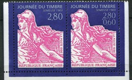FRANCE Yvert 2991A Issu Du Carnet BC2992, (Yvert 2991+2990a) Journée Du Timbre 1996. Neuf Sans Charnière. MNH. - France