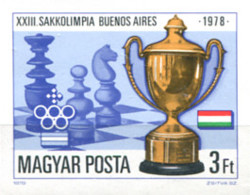 Ref. 20348 * NEW *  - HUNGARY . 1979. 23rd CHESS OLYMPIAD IN BUENOS AIRES. 23 OLIMPIADA DE AJEDREZ EN BUENOS AIRES - Hungría