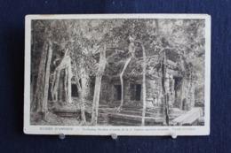 G-253 / Asie  Cambodge - Ruines D'Angkor -  Siem Reap, Ruines D`Angkor-Ta Prohm, Facade Intèrieure  / Circulé - Cambodge