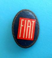 FIAT - Nice Very Old And Rare Pin Badge * Larger Size * Car Automobile Auto Automobil Auto Spilla Italy Italia Torino - Fiat