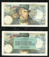 BILLET FICTIF DE 1000 . LA BLANCHE PORTE . - Fictifs & Spécimens