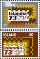 Ref. 101250 * NEW *  - ICELAND . 1973. PHILATELIC EXHIBITION. EXPOSICION FILATELICA - 1944-... República