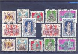 Nr. 1039/1045 Postgaaf ** MNH + Gestempeld - Belgio