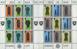 Ref. 7865 * NEW *  - ISLE OF MAN . 1978. EUROPA CEPT. ARCHITECTURE. EUROPA CEPT. ARQUITECTURA - Man (Ile De)