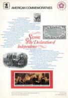 USA. N°1136-9 De 1976 Sur Notice. Signature De La Déclaration D'Indépendance. - Unabhängigkeit USA