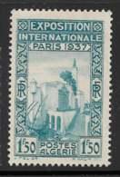 Yvert 129 Maury 131 - 1 F 50 Exposition Paris 1937 - (*) - Neufs