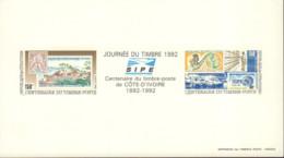 Ref. 593667 * NEW *  - IVORY COAST . 1992. STAMP DAY. DIA DEL SELLO - Costa De Marfil (1960-...)