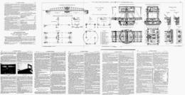 """LE  VIADUC METALLIQUE DE  """" CARONTE """" + PLANCHE DEPLIANTE 110cm   1919 - Otros"""