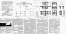"LE  VIADUC METALLIQUE DE  "" CARONTE "" + PLANCHE DEPLIANTE 110cm   1919 - Wissenschaft & Technik"