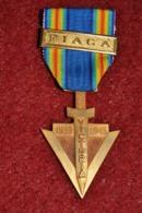 Médaille De La FiACA Vétérans Anciens Combattants - Francia