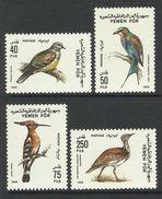 YEMEN(PDR)  1988  BIRDS  SET   MNH - Uccelli