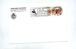 Lettre Flamme Sukkertoppen Inuit - Storia Postale