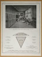 1926 Machines à Imprimer Les Adresses Adrema L. Muller-Frossard Usines à Mulhouse (Filatures La Redoute Roubaix) - Pub - Publicités