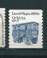 N° 1935 Lunch Wagon  Timbre  USA Etats Unis (1991) Oblitéré - Usati