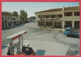 CP-31-MONTASTRUC-La-CONSEILLÈRE- Le Relais - Station ESSO - ANimation **2 SCANS - Montastruc-la-Conseillère