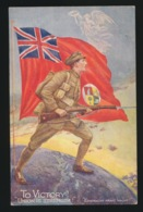 TO VICTORY !  UNION IS STRENGTH - Weltkrieg 1914-18