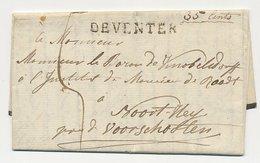 Wijhe - Deventer - Voorschoten 1825 - Nederland