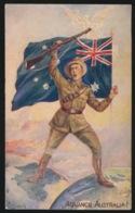 ADVANCE AUSTRALIA - Guerra 1914-18