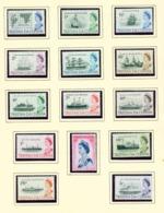 TRISTAN DA CUNHA  - 1965 Ship Definitives Set Unmounted/Never Hinged Mint - Tristan Da Cunha