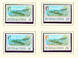 TRISTAN DA CUNHA  - 1967 Calshot Harbour Set Unmounted/Never Hinged Mint - Tristan Da Cunha