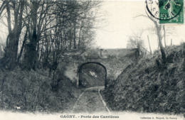 93  GAGNY PORTE DES CARRIERES - Gagny