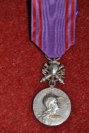Mérite Nationale Préparation Militaire Attribuée En Argent - Francia
