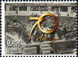 Ecuador 2018 ** 70 Años De La Orquesta Sinfónica Nacional. 70 Years Of The National Symphony Orchestra. - Ecuador