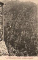 D66  AMÉLIE LES BAINS  Mines De Fer De La Pinouse Cable Pour Le Transport Du Minerai De La Pinouse à Rapaloum - France