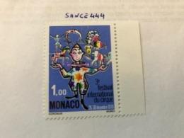 Monaco Circus Festival 1976 Mnh - Monaco