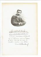 CAMILLE CHEVILLARD 1859 PARIS 1923 CHATOU COMPOSITEUR CHEF ORCHESTRE PORTRAIT GRAVE AUTOGRAPHE BIOGRAPHIE ALBUM MARIANI - Historical Documents