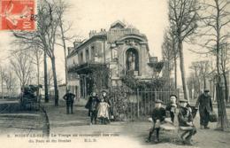 93  NOISY LE SEC CROISEMENT DES RUES DU PARC ET DU GOULET/ANIMATION - Noisy Le Sec