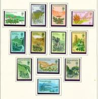 TRISTAN DA CUNHA  - 1972 Flowering Plant Definitives Set Unmounted/Never Hinged Mint - Tristan Da Cunha