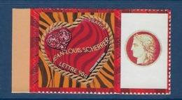 "FR Personnalisés YT 3864A "" Coeurs De Scherrer Adhésif "" 2006 Neuf** - Personalisiert"