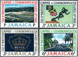 Ref. 42280 * NEW *  - JAMAICA . 1966. 8th COMMONWEALTH GAMES IN KINGSTON. 8 JUEGOS DEPORTIVOS DE LA COMMONWEALTH EN KING - Jamaica (1962-...)