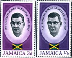 Ref. 175900 * NEW *  - JAMAICA . 1967. SIR DONALD BURNS SANGSTER - Jamaica (1962-...)