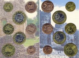 WALES - PAYS DE GALLES 2004 BU EURO PATTERN SET  EURO ESSAI  PROBE  TRIAL - Privéproeven