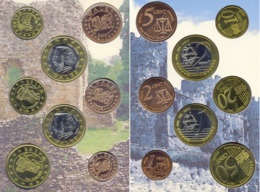 WALES - PAYS DE GALLES 2004 BU EURO PATTERN SET  EURO ESSAI  PROBE  TRIAL - EURO