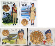 Ref. 42358 * NEW *  - JAMAICA . 1993. 50TH ANNIVERSARY OF THE CADETS OF THE COMBINED FORCE. 50 ANIVERSARIO DE LOS CADET - Jamaica (1962-...)