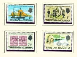 TRISTAN DA CUNHA  - 1971 Shackelton Expedition Set Unmounted/Never Hinged Mint - Tristan Da Cunha