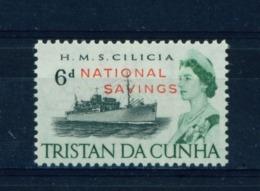 TRISTAN DA CUNHA  - 1970 National Savings 6d Unmounted/Never Hinged Mint - Tristan Da Cunha
