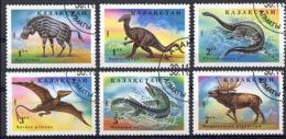 Ref. 217776 * USED *  - KAZAKHSTAN . 1994. PREHISTORIC FAUNA. FAUNA PREHISTORICA - Kazajstán