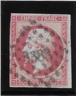 France N°17B - 80c Rose - B - 1853-1860 Napoleon III