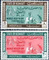 Ref. 248087 * NEW *  - KUWAIT . 1964. HEALTH WORLD DAY. DIA MUNDIA DE LA SALUD - Kuwait