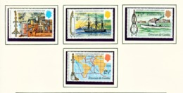 TRISTAN DA CUNHA  - 1973 Challengers Visit Set Unmounted/Never Hinged Mint - Tristan Da Cunha