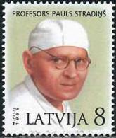 Ref. 123921 * NEW *  - LATVIA . 1996. BIRTH CENTENARY OF PAULS STRADINS. CENTENARIO DEL NACIMIENTO DE PAULS STRADINS - Letonia
