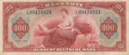 BRD Ro 244 100 DM Serie L...A 1948  Erhaltung 3 - 100 Deutsche Mark